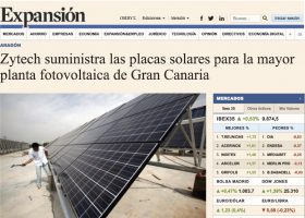 Zytech manufactures solar panels for largest PV Power Plant in Canary Island